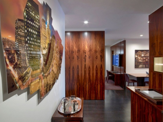 New york pied terre jeffrey thrasher design inc for Nyc pied a terre